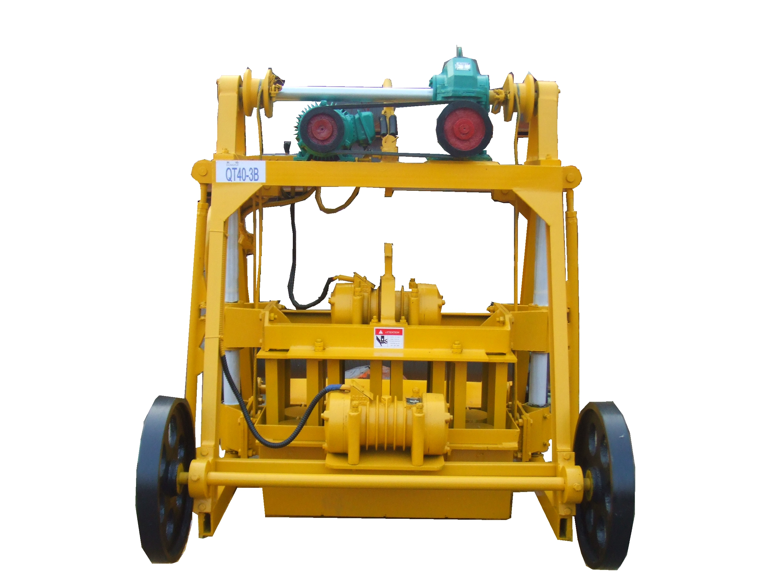 6 inches hollow block making machine