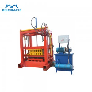 QT4-30 Manual hydraulic paver kerb block making machine
