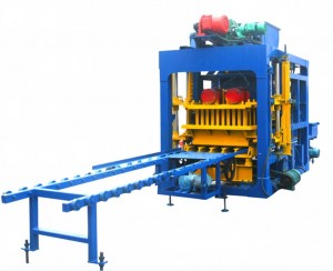 QT4-25 Automatic cement block machine