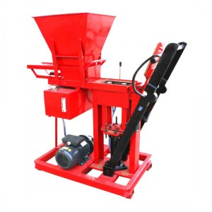 BR1-25 Diesel engine soil interlocking brick machine