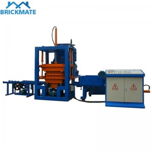 QT3-20 Small automatic hydraulic color paver brick making machine