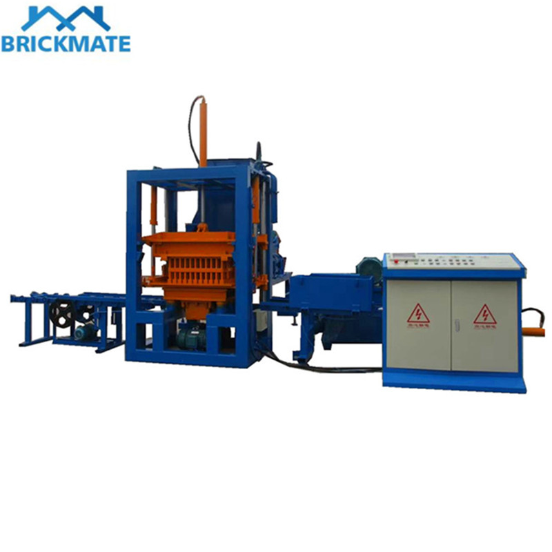 QT3-20 Small automatic hydraulic color paver brick making machine Featured Image