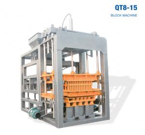 QT8-15 Automatic cement block making machine