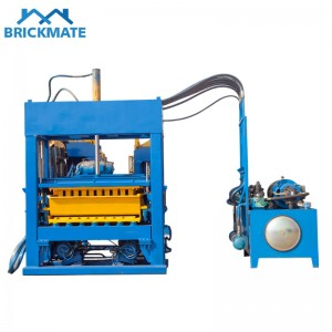 Automatic Block Brick Making Machine QT5-15