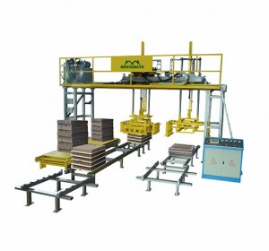 Gantry style palletizing machine